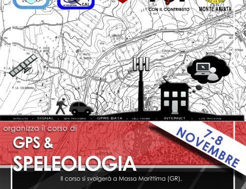 Corso di gps & speleologia