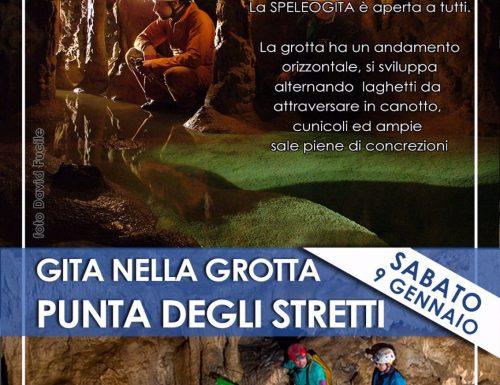 Gita alla Grotta di Punta degli Stretti